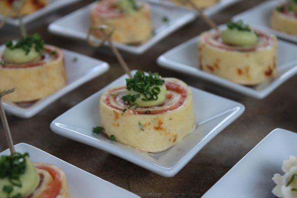 Lachspfannkuchen