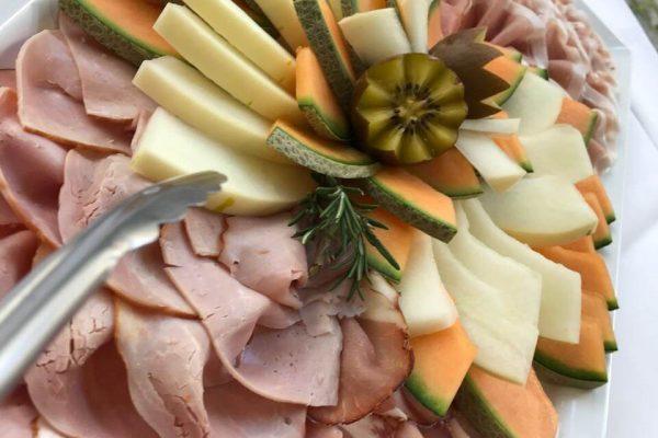 Schinken-Melone Platte
